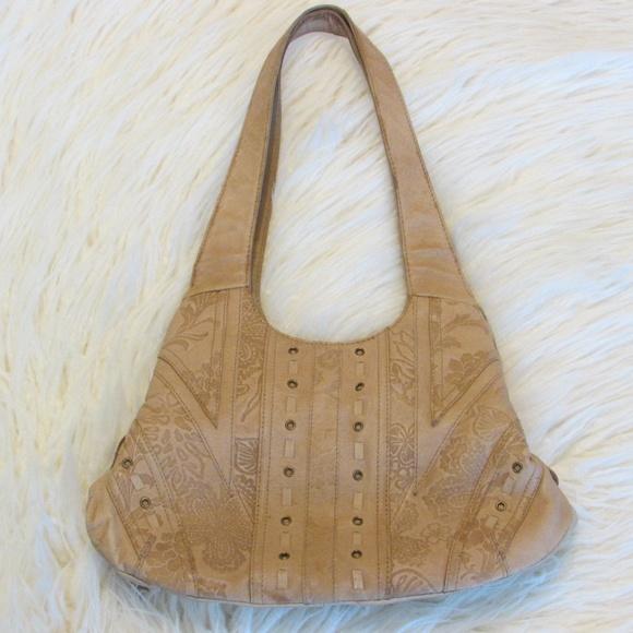Cabin Creek Tan Leather Purse